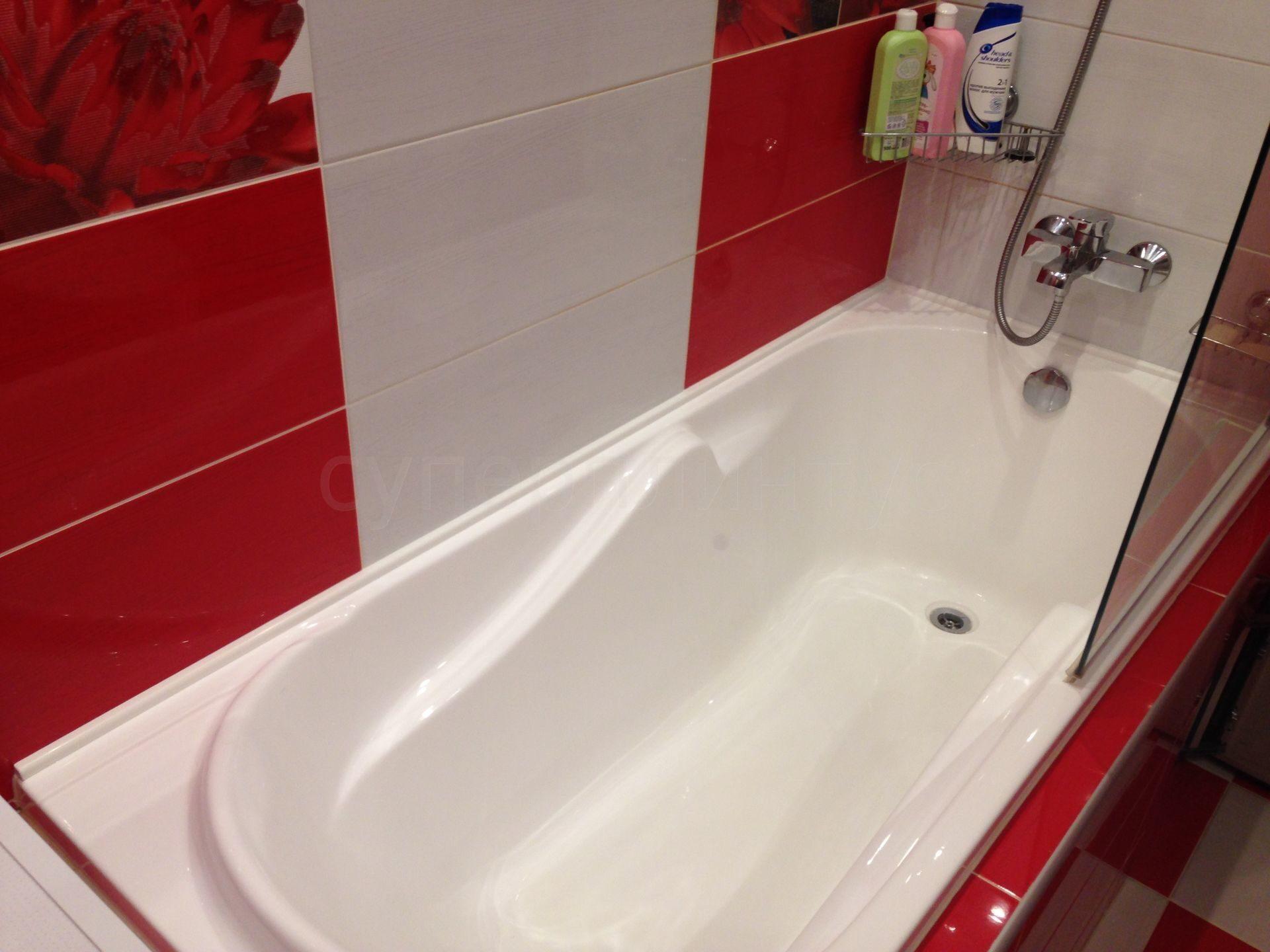Керамический бордюр для ванны установка своими руками